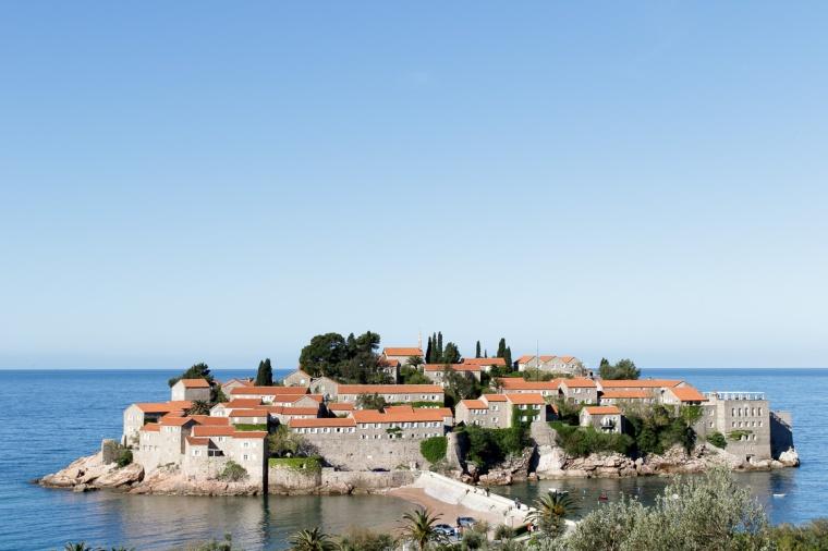 Hotel, Insel, Sveti Stefan, Adria, Montenegro