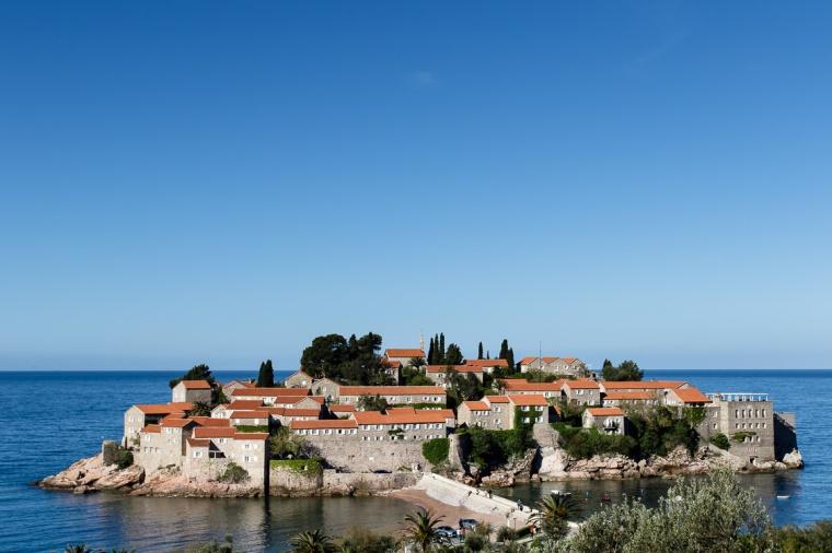 Hotel, Sveti Stefan, Montenegro, Insel, Adria
