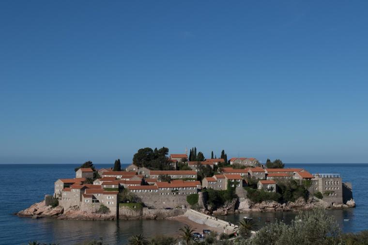 Hotel, Montenegro, Sveti Stefan, Insel, Adria