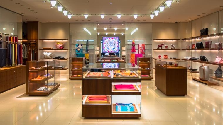 Hermès, Mode, Luxus, Flughafen, San Francisco