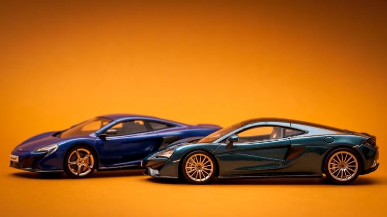 McLaren, Sportwagen, Design, Modellauto, Lichtkante