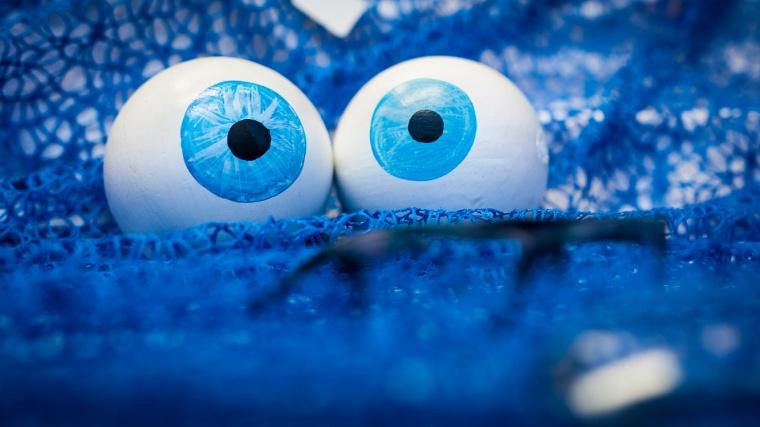 Auge, Augapfel, Augäpfel, Optiker, Schaufenster, Dekoration