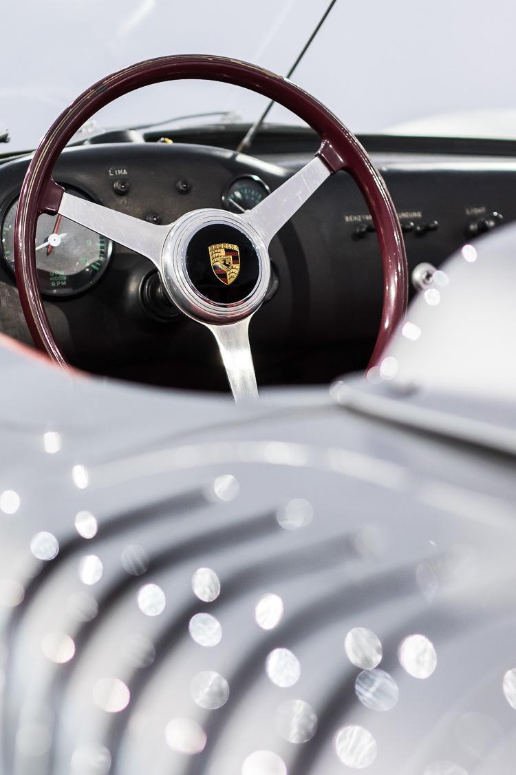 Porsche, Porsche 718, Rennwagen, Oldtimer, Cockpit, Lenkrad