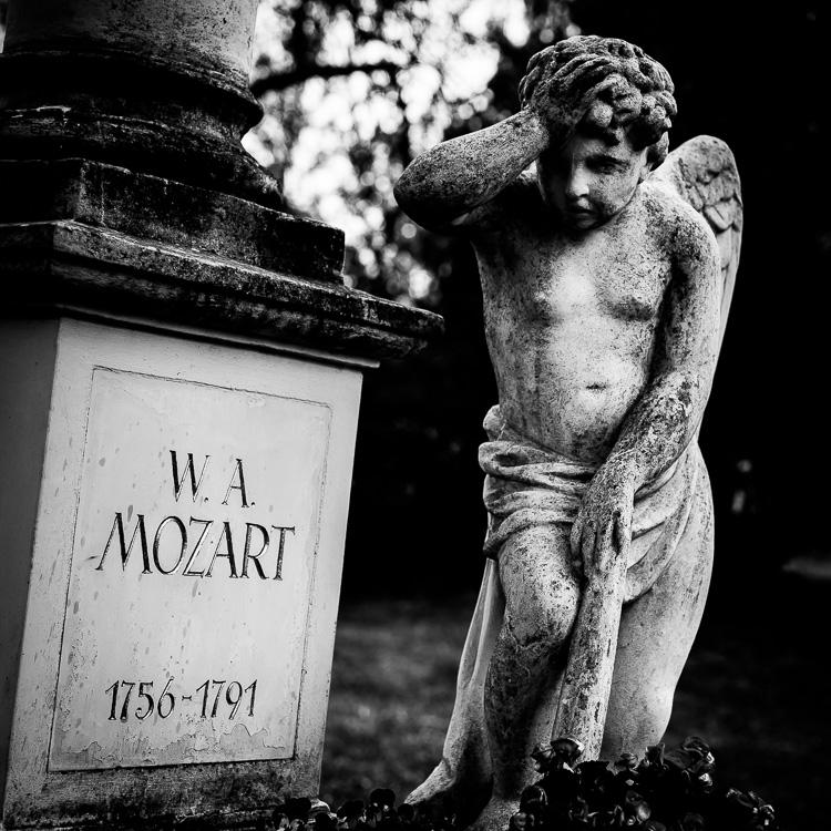 Grab, Friedhof, Wien, Mozart