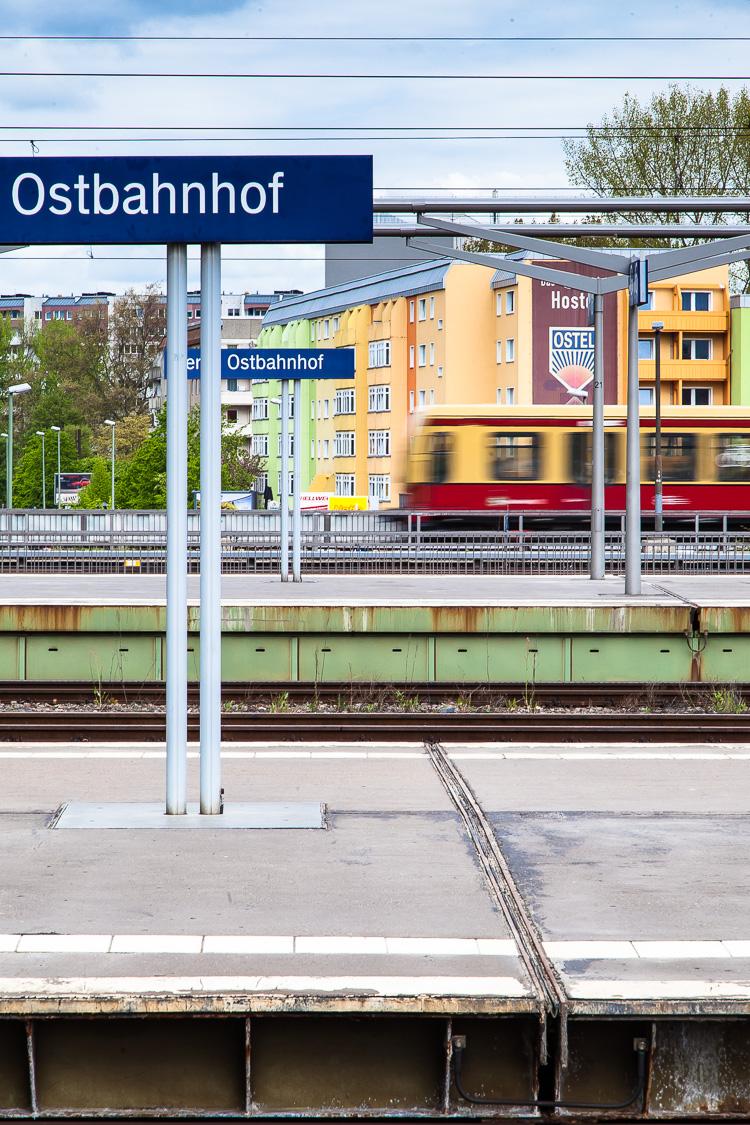 S-Bahn, Berlin, Bahnhof, Ostbahnhof, Bahnsteig