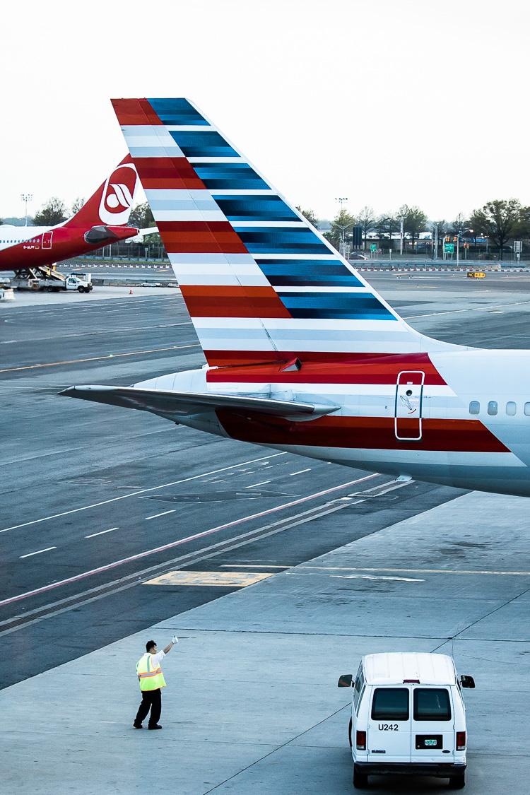Flughafen, Flugzeug, JFK, New York, John F. Kennedy