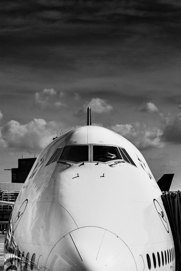 Boeing 747, 747, Boeing, Jumbo, Jumbo-Jet-Jet, Flugzeug, Gate, Flughafen