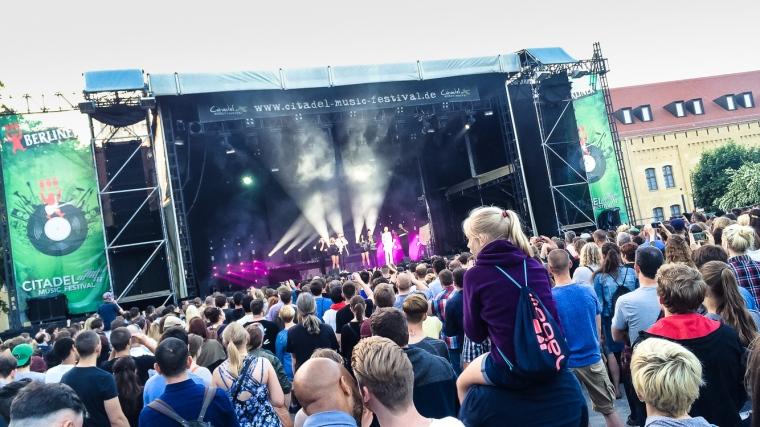 Konzert, Rockkonzert, Open Air, Berlin, Spandau, Zitadelle
