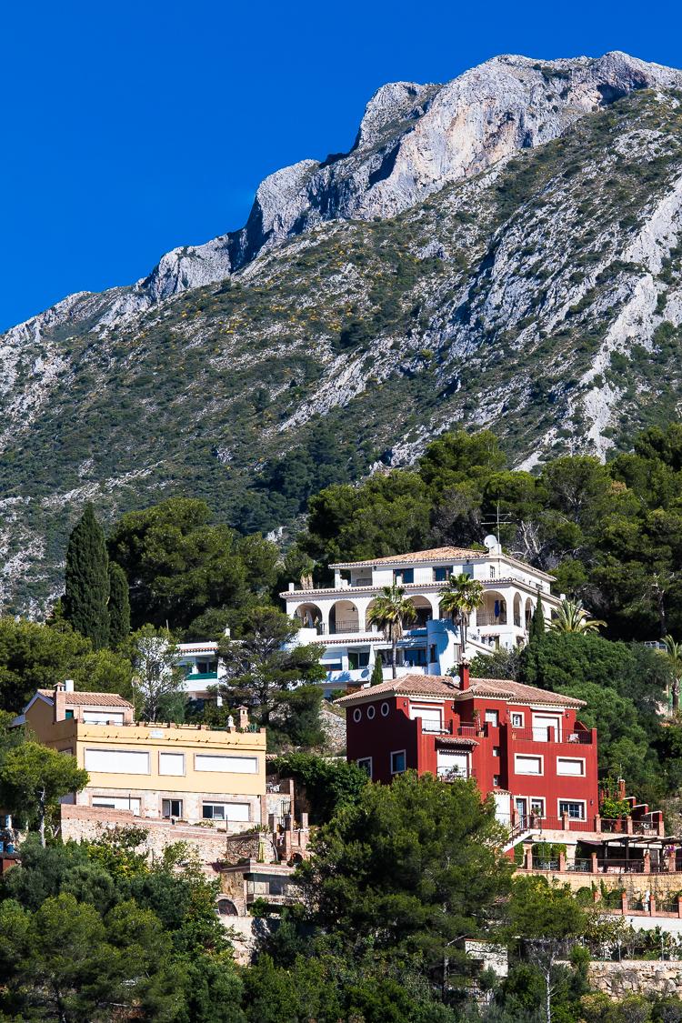 Villa, Villen, haus, Häuser, Marbella, Berg, Spanien, Sonne