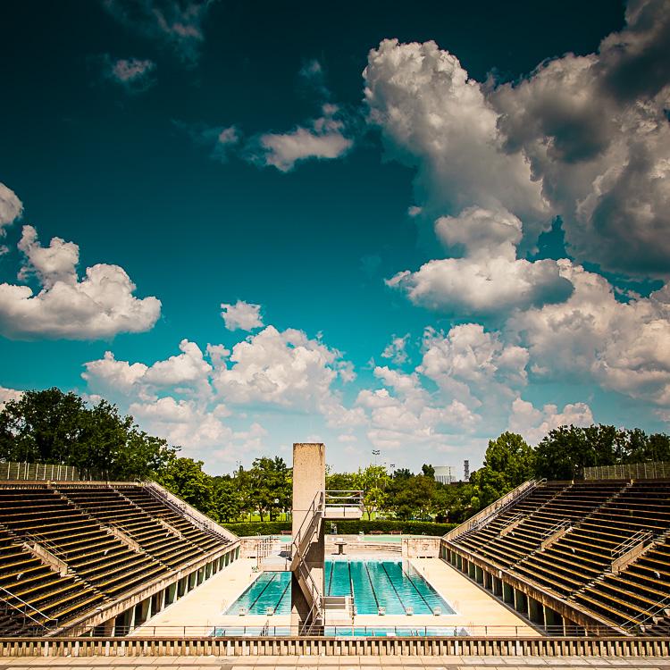 Schwoimmbad, Schwimmbecken, Olympiastadion, Berlin