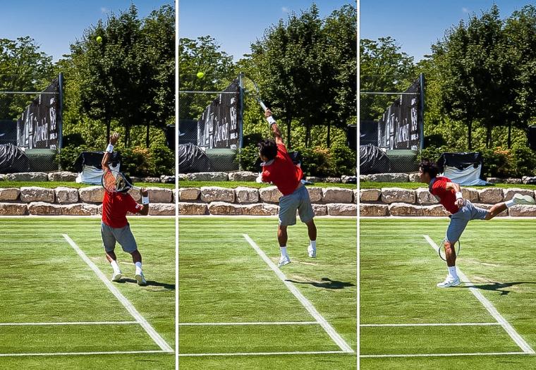 Tennis, Aufschlag, Rasen, Turnier, Tennisturnier, Saguta