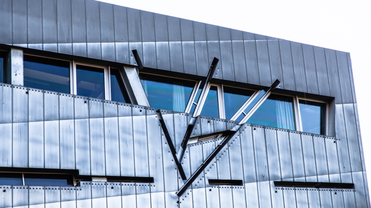 Fassade, Architektur, Museum, jüdisch, Jüdisches Museum, Berlin
