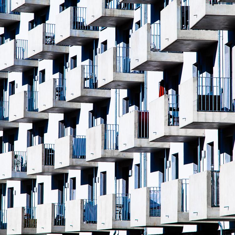 balkon, Haus, Mietwohnung, Wohnung