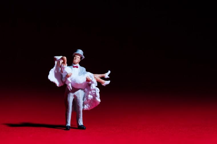 Brautpaar, Hochzeit, Miniatur, Figur