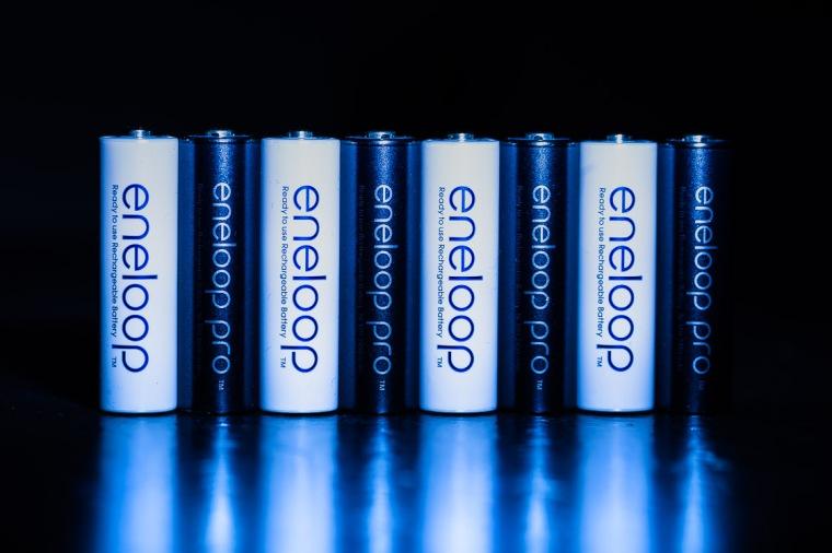 Akkus, Batterien, Eneloop