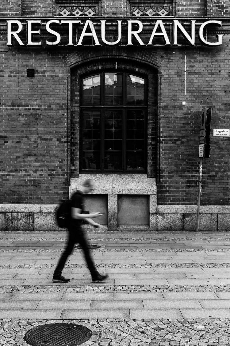 Restaurant, Schweden, Malmö, Streetfoto, Fußgänger
