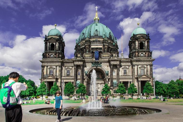 Berlin, Dom, Berliner Dom, Lustgarten, Touristen