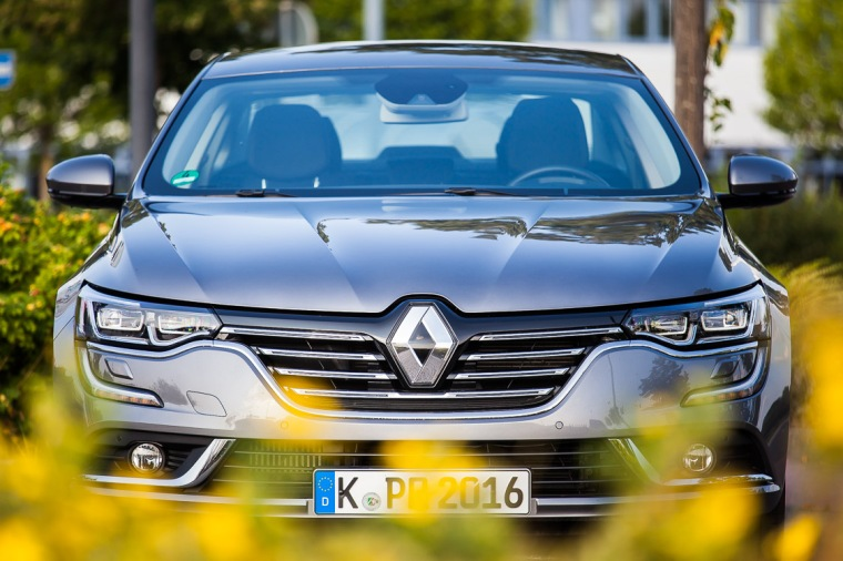 Renault Talisman, Renault, Talisman, Auto, Front, Blick, Kühlergrill, Scheinwerfer, Limousine