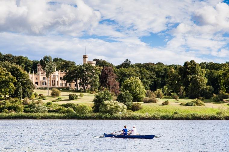 Schloss, Babelsberg, Potsdam, Havel, Glienicker Lake, Schloss Babelsberg, Park Babelsberg, Park
