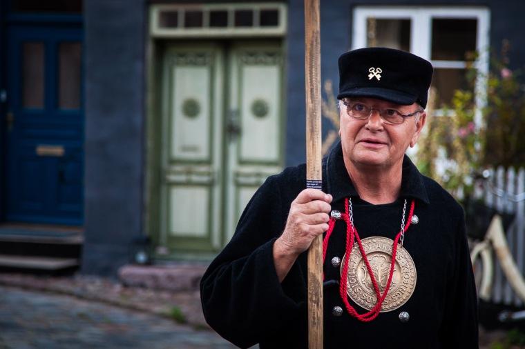 Nachtwächter, Stadtführer, Tourismus, Aeroe, Dänemark