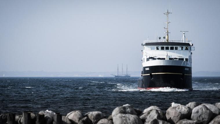 Fähre, Schiff, Ostsee, Dänemark, Aeroe, Soeby
