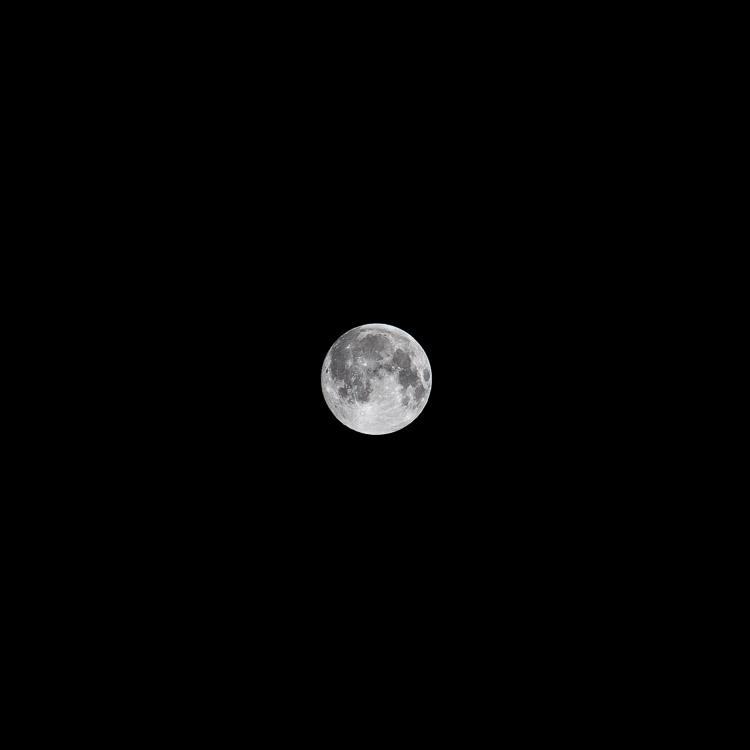 Mond, Vollmond, Nacht