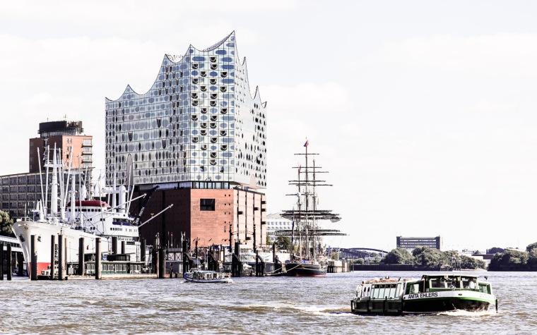 Elbphilharmonie, Elbe, Hafen, Hamburg