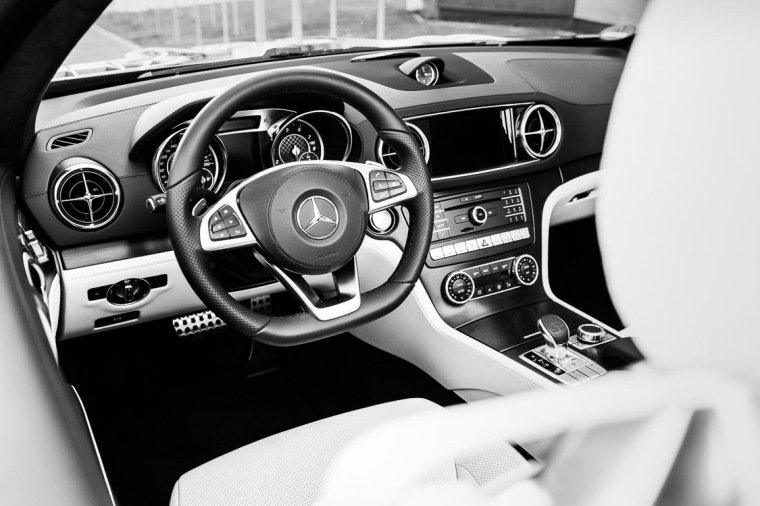 Mercedes, Mercedes SL, SL, Roadster, Innenraum, Cockpit, Armaturenbrett