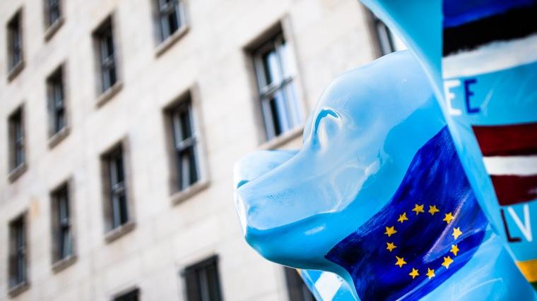 Buddy Bear, Statue, Berlin, Finanzministerium