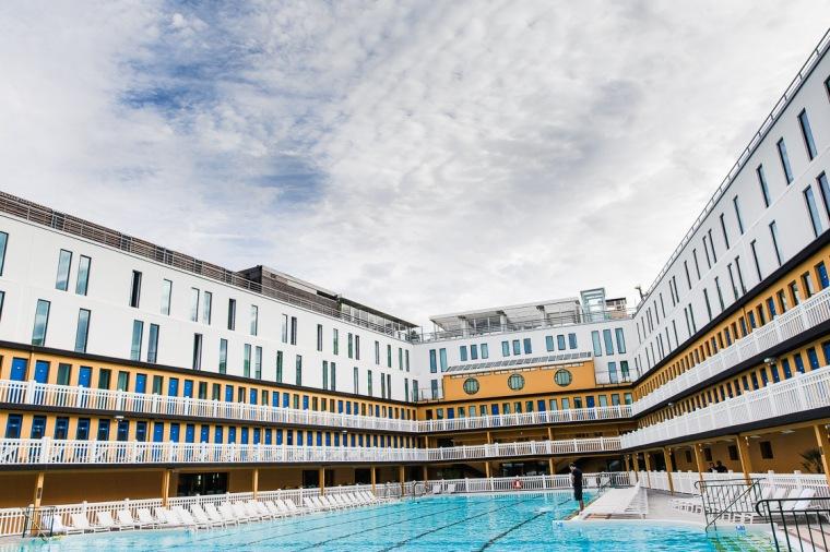 Hotel, Molitor, Schwimmbad, Piscine Molitor