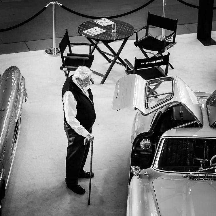Mercedes SL, Mercedes, Flügeltürer, Messe