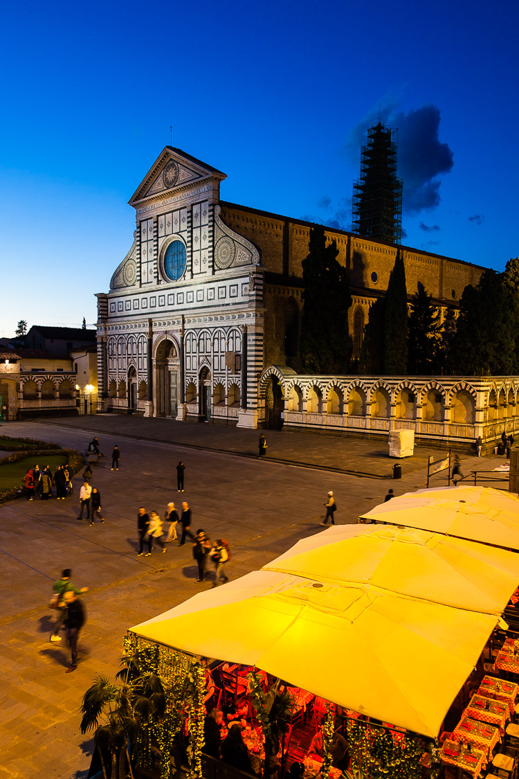 Florenz, Piazza, Basilika, Kirche, Santa Maria Novella