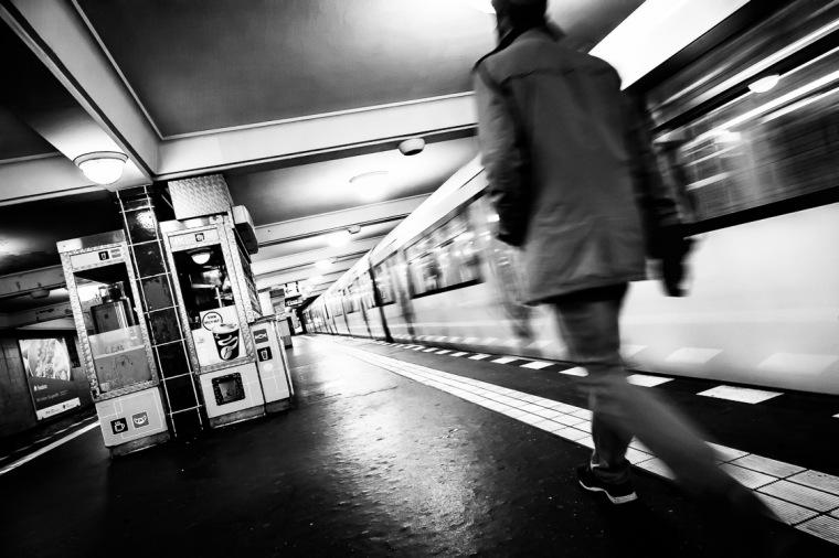 U-Bahn, Berlin, U7, Karl-Marx-Straße, Neukölln, U-Bahnhof