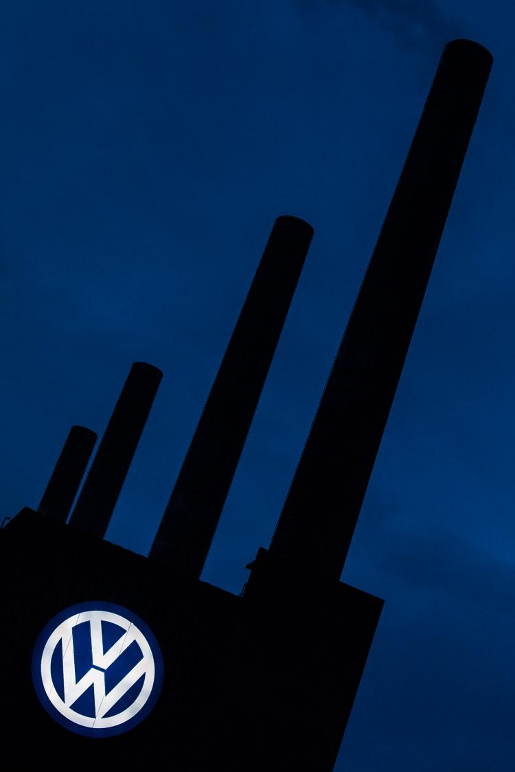 Kraftwerk, Wolfsburg, VW, Volkswagen, Nacht