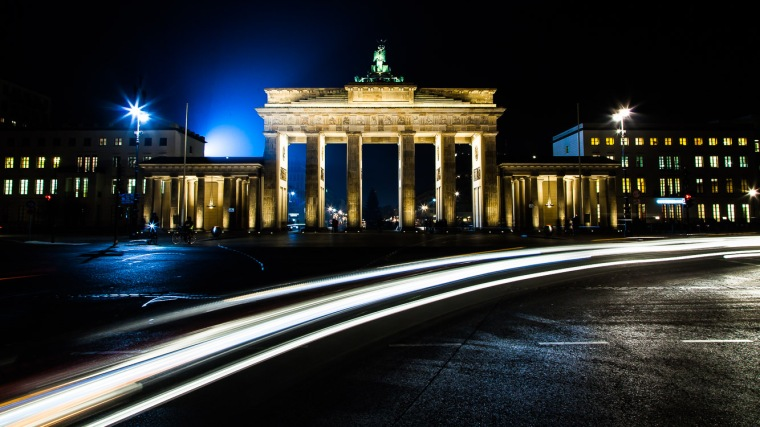 Brandenburger Tor, Berlin, Nacht