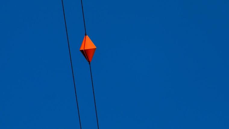 blau, Himmel, Seil, Drahtseil, Sendemast