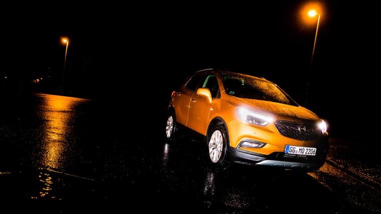 Opel, Opel Mokka X, SUV, Auto, Nacht