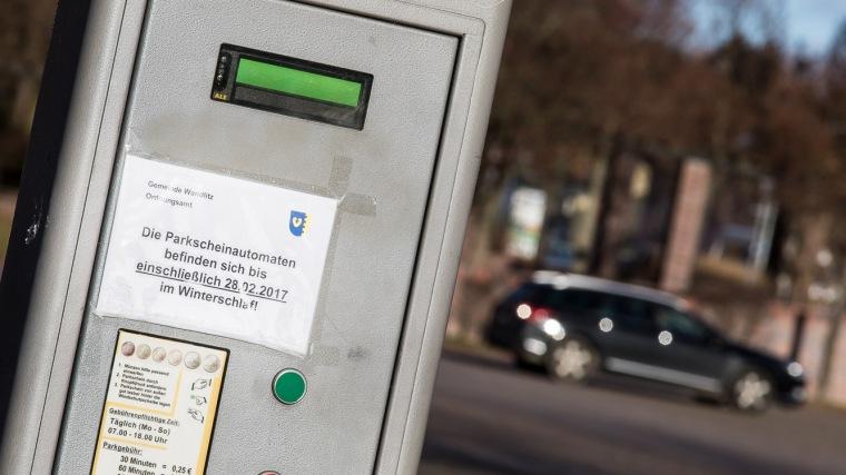 Parkscheinautomat, Parkplatz, Auto, Parkgebühr