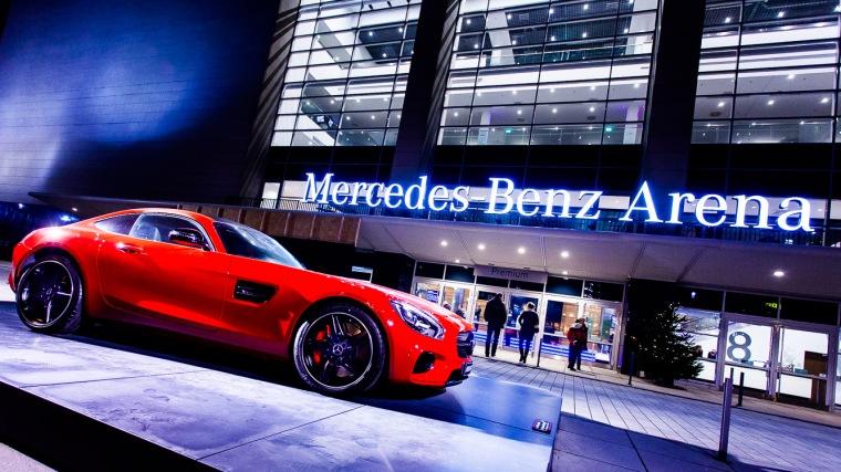 Mercedes-Benz-Arena, Berlin, Konzerthalle, Halle, Vielzweckhalle, Auto, Sportwagen, AMG GT